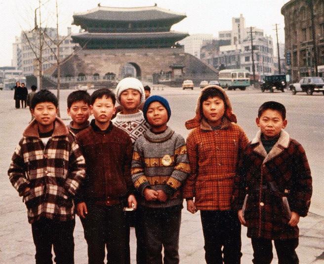 Seoul Korea 1970-71